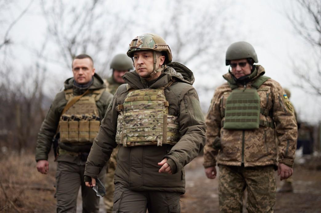Зеленський розповів про ситуацію на фронті / фото: Офіс президента