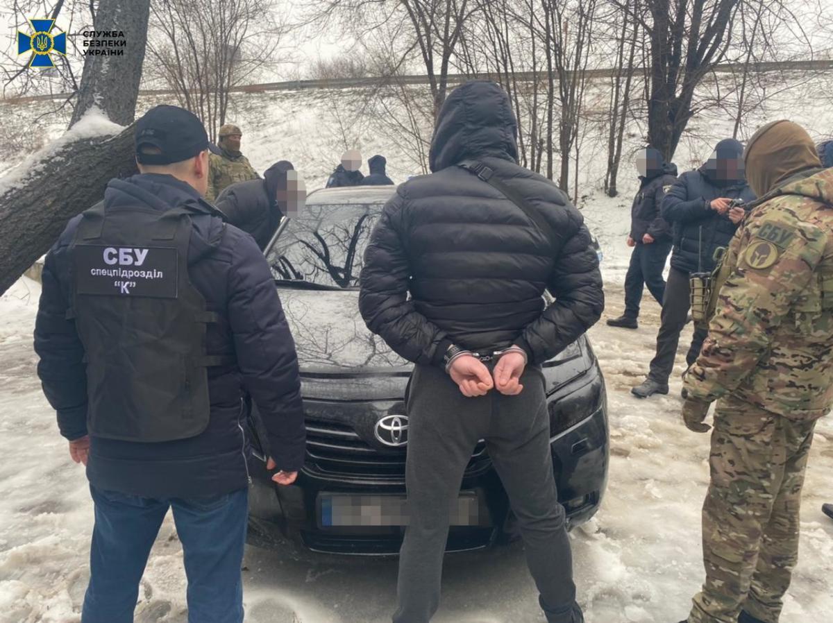 В Днепре задержали банду / фото ssu.gov.ua