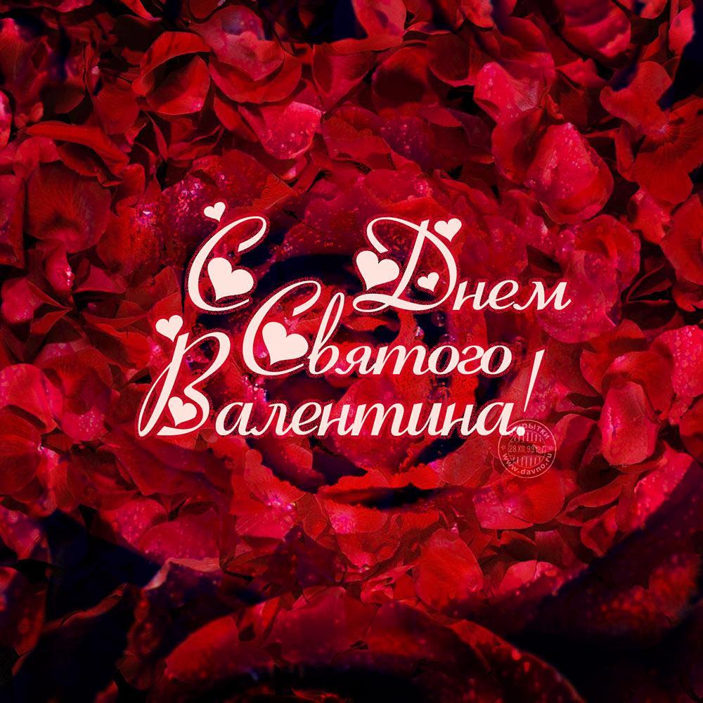 С Днем святого Валентина / фото pinterest.com