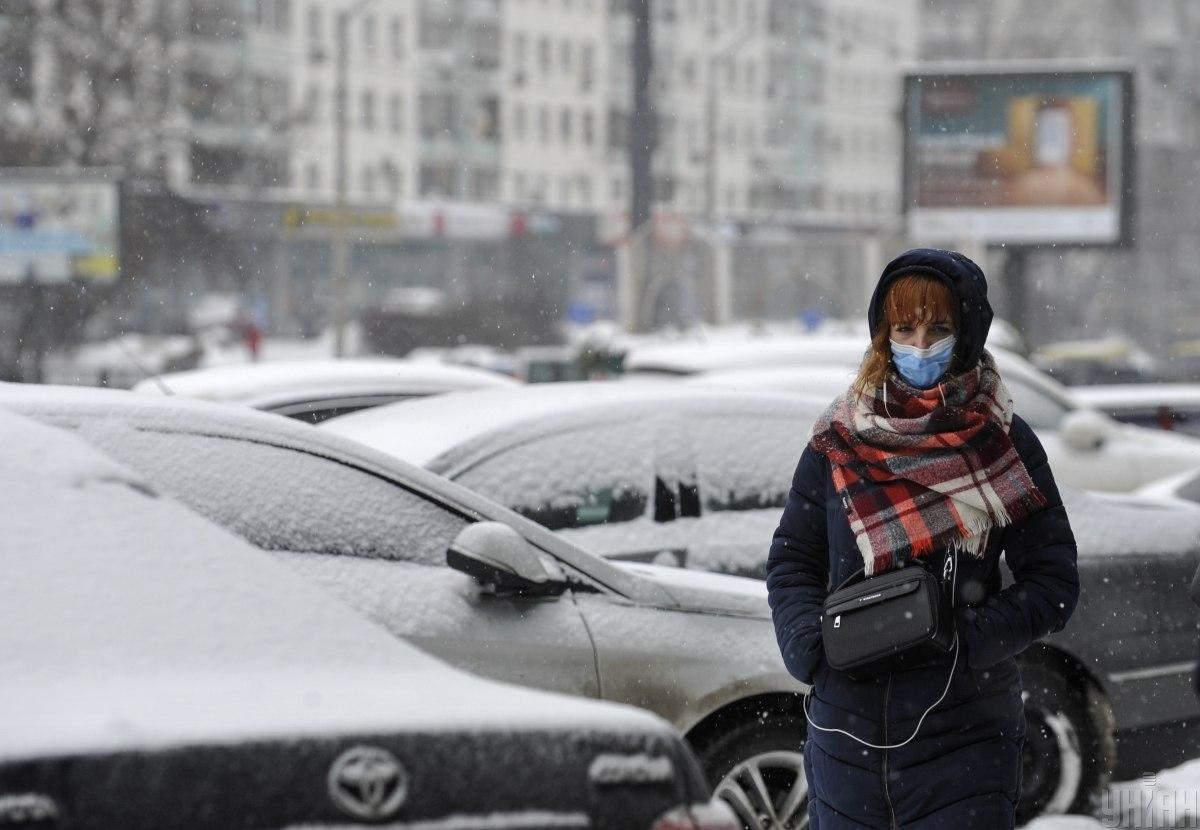 У Києві триває справжня зима / Фото УНІАН