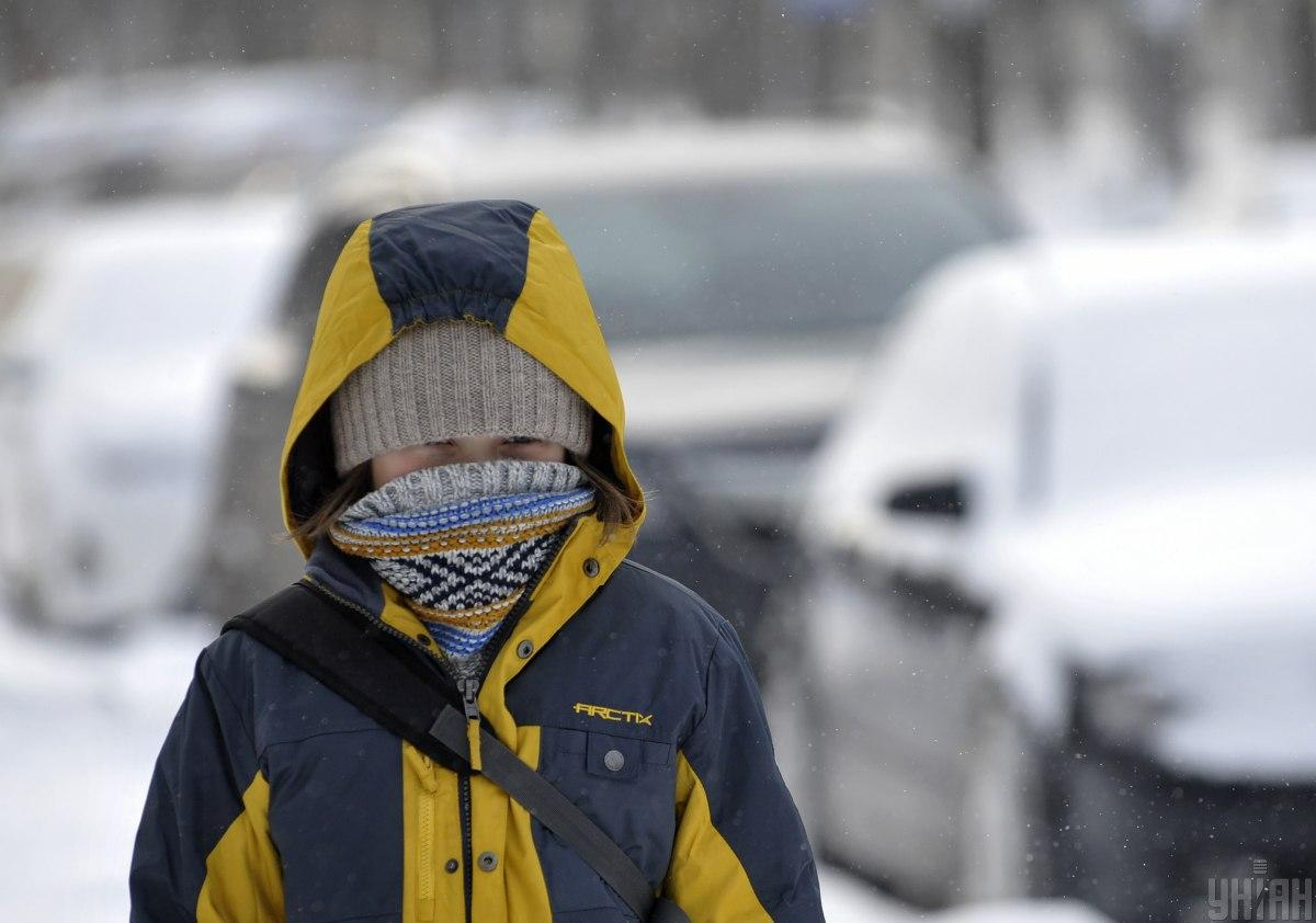 На дорогах, крім південних регіонів, місцями ожеледиця / фото УНІАН, Сергій Чузавков