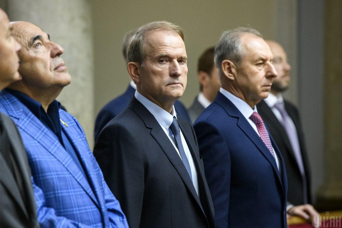 Слуга народа заявляет, что за Медведчука должны взяться правоохранительные органы / Фото УНИАН, Владислав Мусиенко