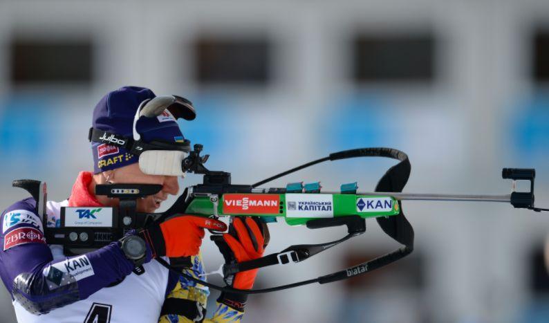 Елена Пидгрушная финишировала седьмой / фото biathlon.com.ua