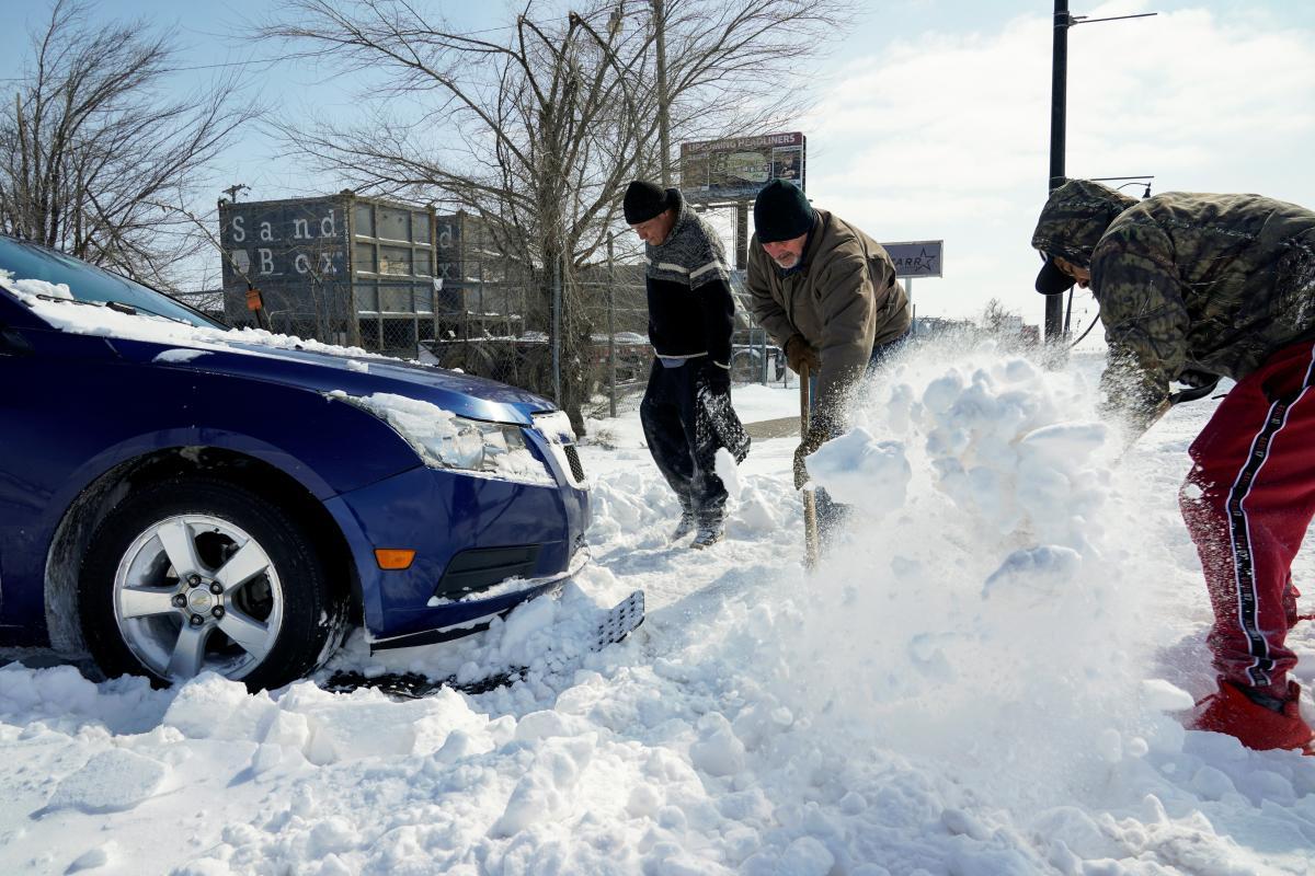 В США продолжаются сильные морозы / Фото REUTERS