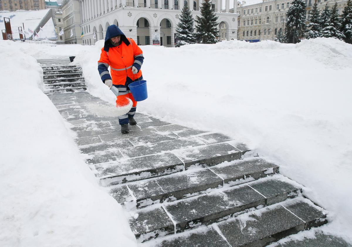 В Украине продолжается зимняя погода / Фото REUTERS