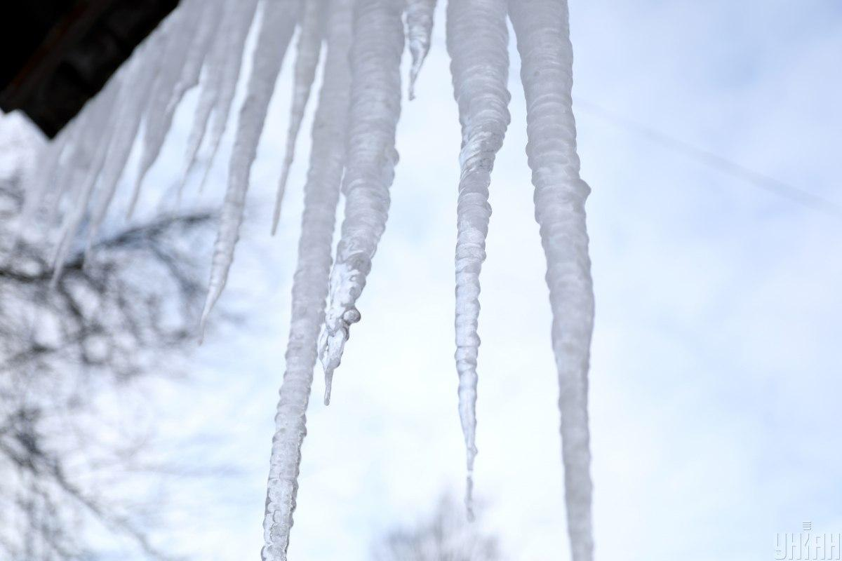 Погодные условия создают опасность на улицах / фото УНИАН, Николай Тис