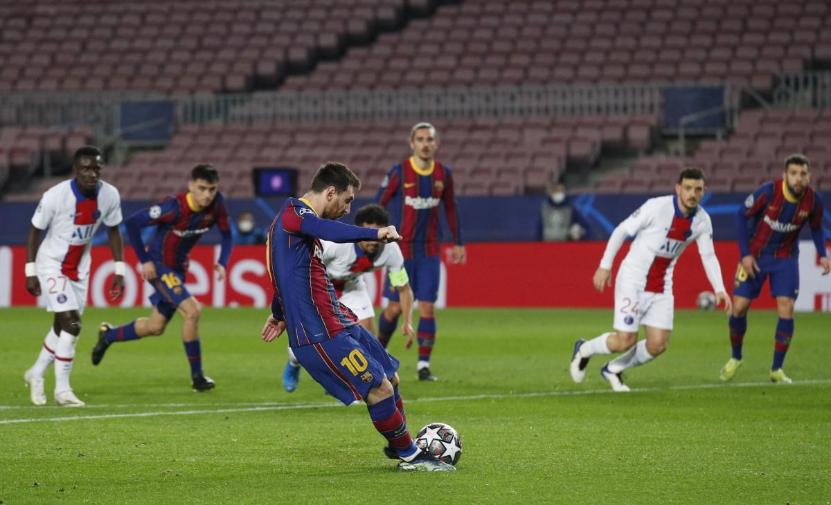 Барселона - ПСЖ / фото REUTERS