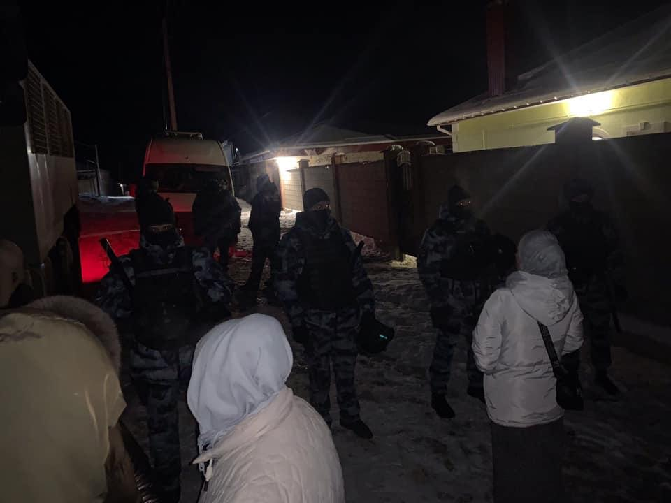 Обыски в Крыму 17 февраля / фото: Крымская солидарность