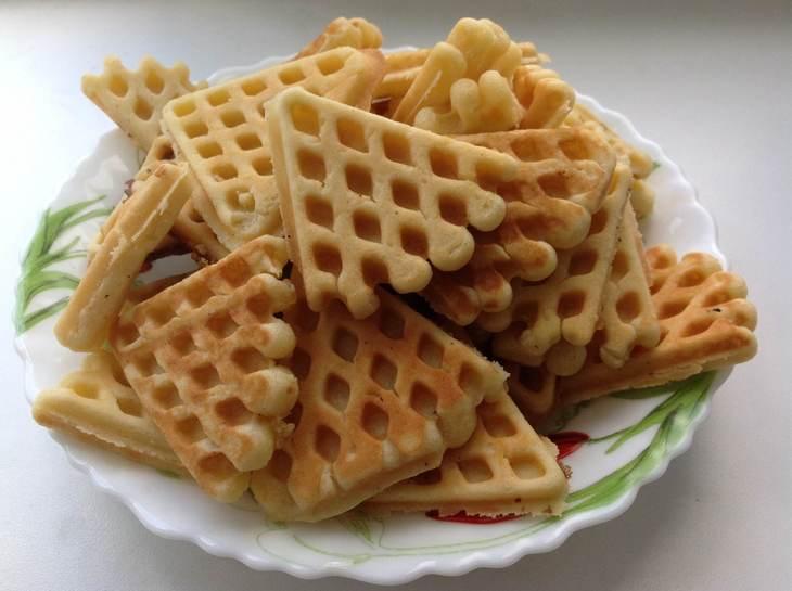 Вкусное печенье в форме на газу - рецепт / фото koolinar.ru