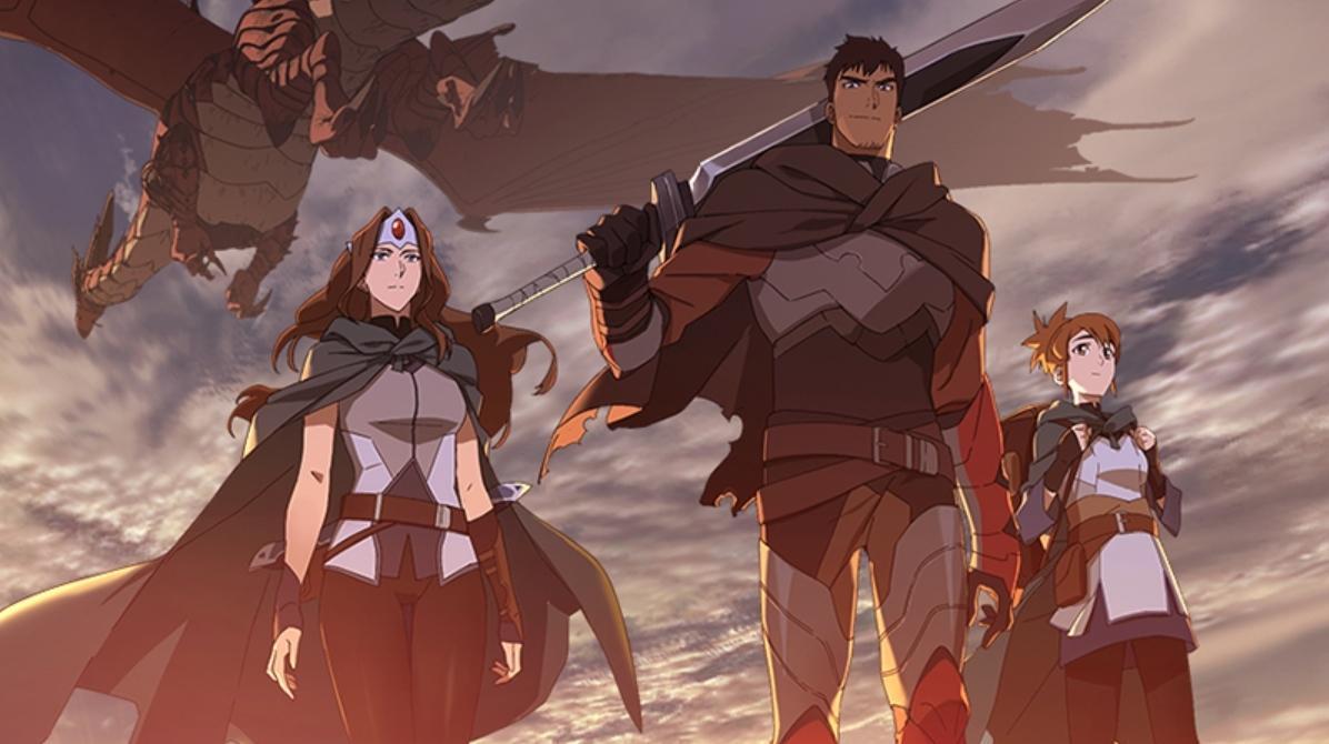 Кадри з першого сезону серіалу Dota: Dragon's Blood / фото blog.dota2.com