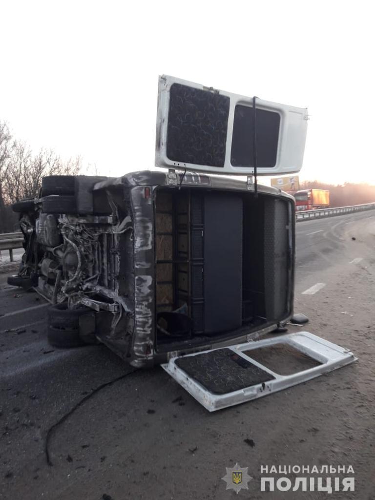 В результате ДТП пострадали 10 человек / фото Нацполиция Харьковщины