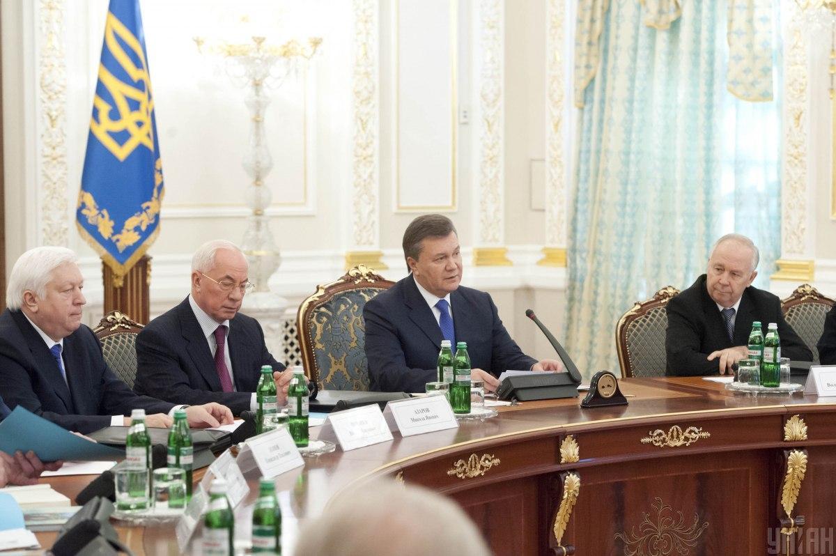 СНБО ввел санкции против Януковича и Азарова / фото УНИАН, Анастасия Сироткина