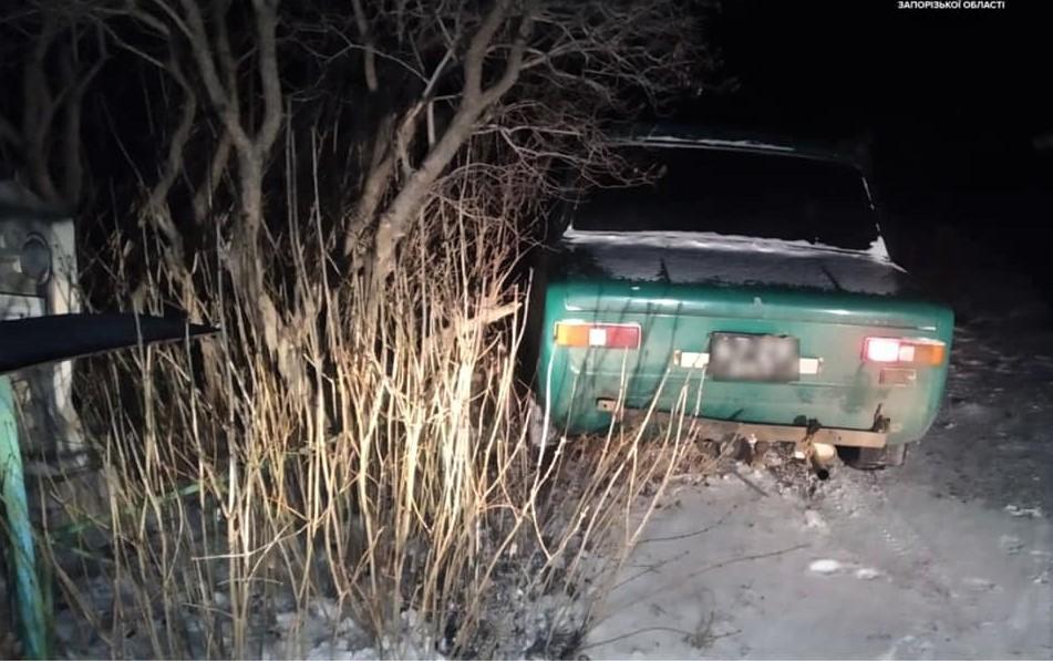 Патрульные составили на водителя пять протоколов / фото патрульная полиция Запорожской области