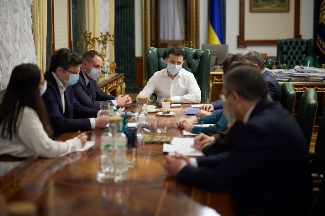 Зеленський задоволений роботою делегації України на останній сесії ПАРЄ/ фото president.gov.ua