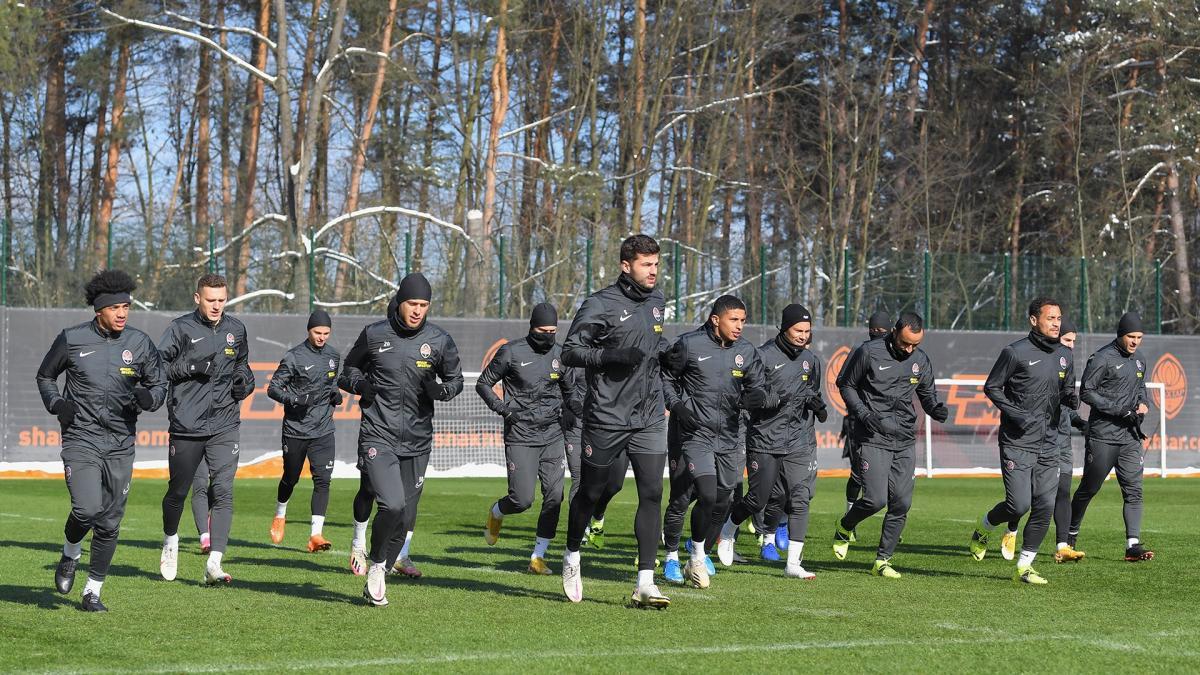Игроки Шахтера готовятся к евровесне / фото ФК Шахтер