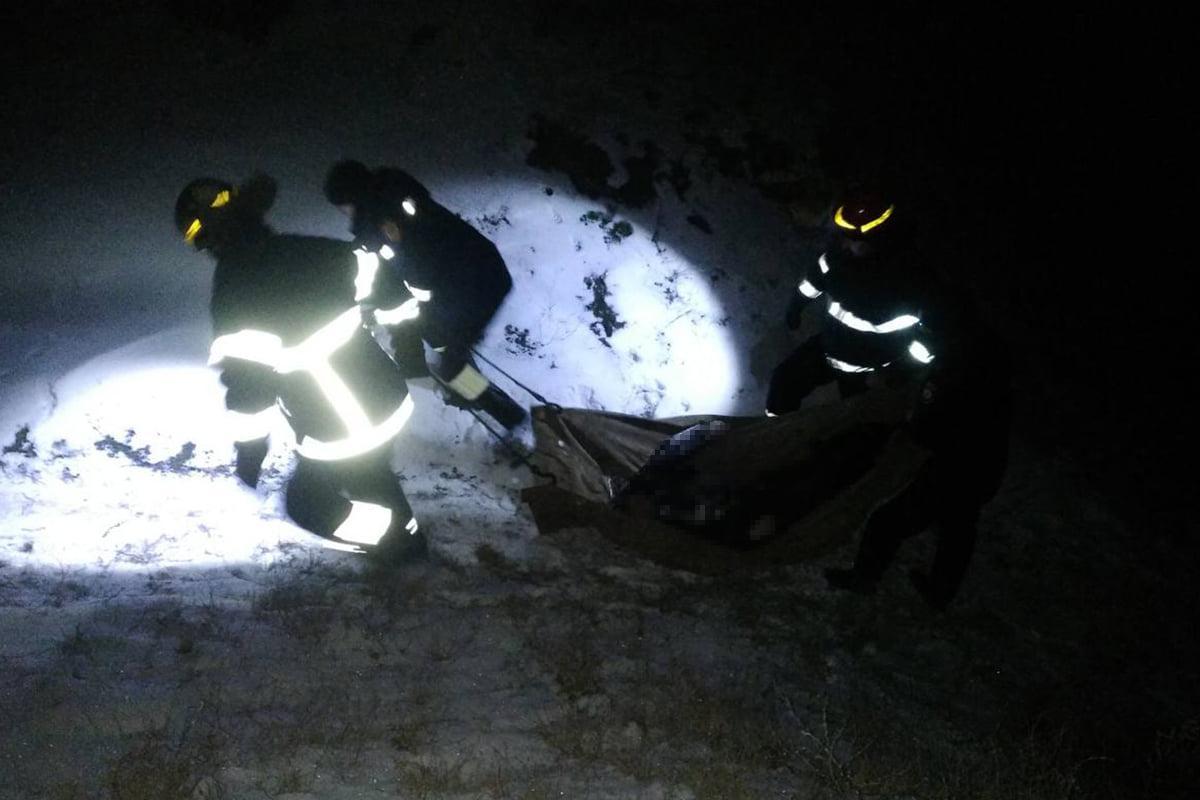 В результате несчастного случая погибли два человека / фото ГСЧС