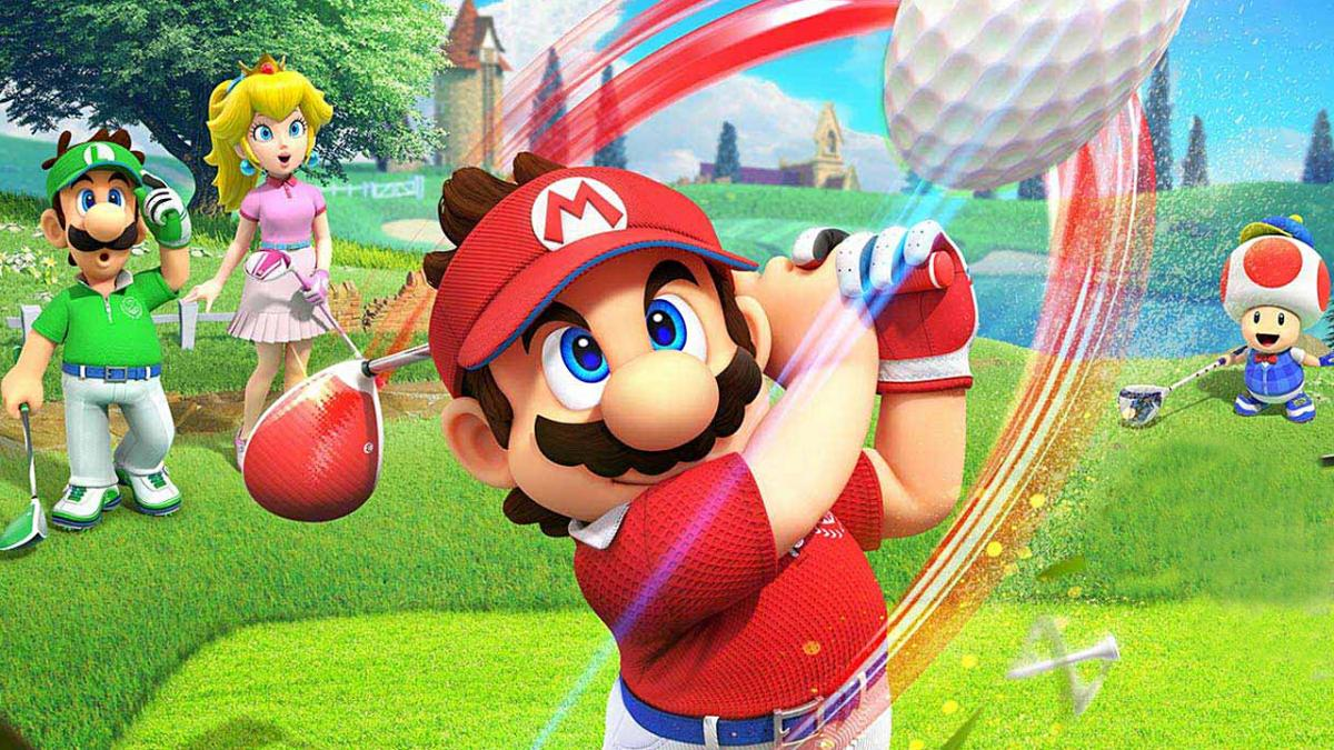 Симулятор гольфу з Маріо / фото nintendo