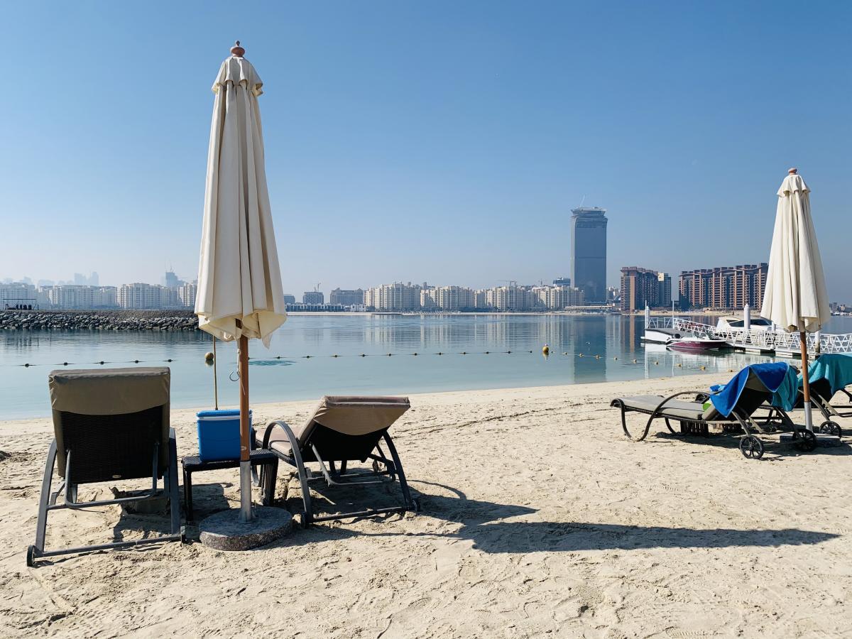 Погода в Дубае в феврале / фото автора