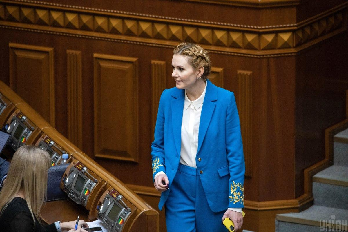 Депутат показала стильный образ / фото УНИАН