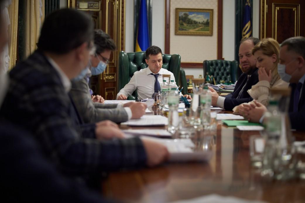 На совещании обсуждалось обеспечение международной поддержки Украины/ фото Офис президента