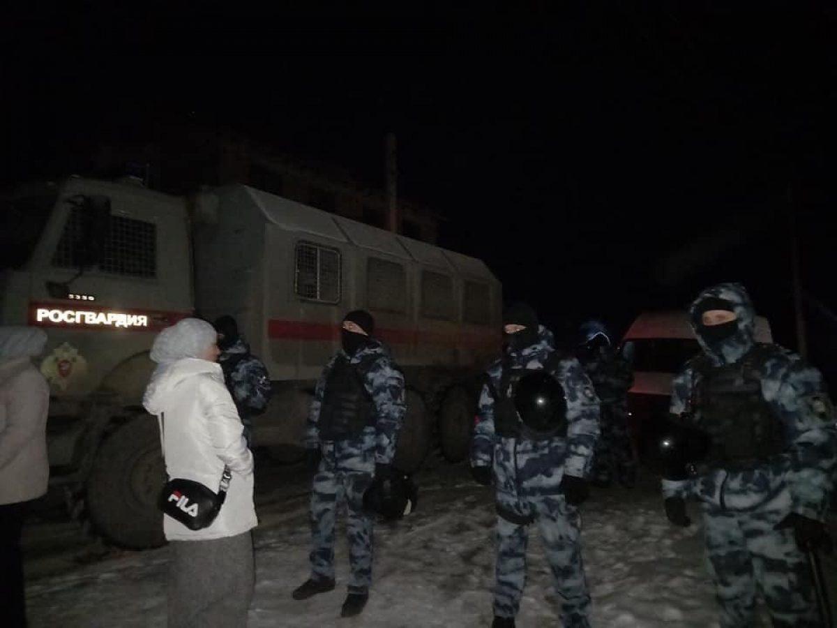 В результате обысков 17 февраля были задержаны семь крымских татар / фото Крымская солидарность