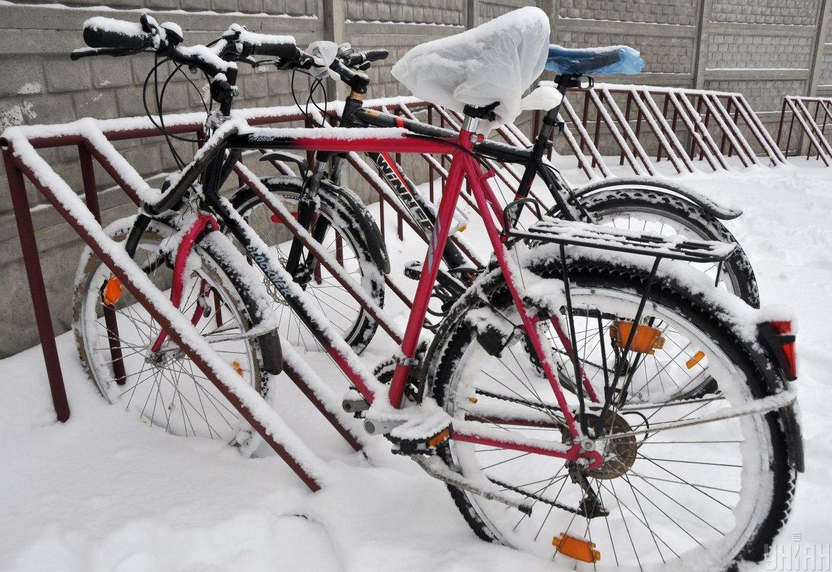 Кражи Киев - у нидерландского дипломата под НАБУ украли велосипед / Фото УНИАН, Андрей Мариенко