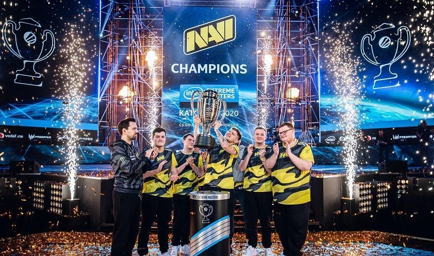 NAVI після перемоги на чемпіонаті IEM Katowice 2020 / фото navi.gg
