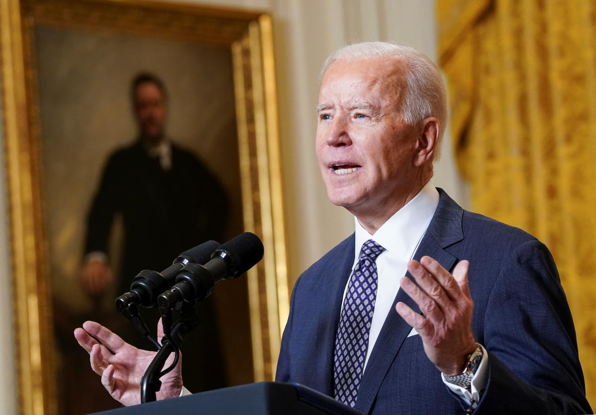 Байден прокомментировал хаос, связанный с выводом американских войск из Афганистана \ фото REUTERS