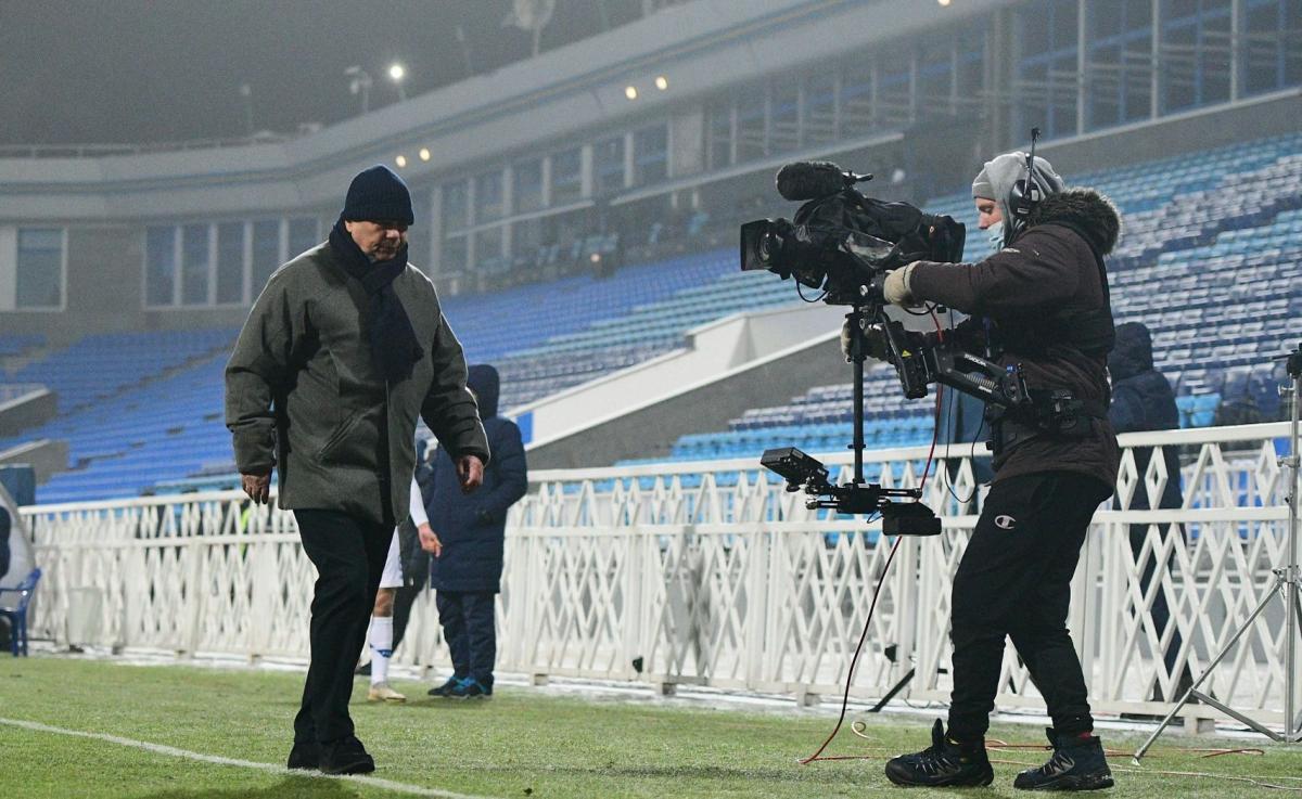 Команда Мирчи Луческу лидирует в чемпионате / фото Динамо Киев