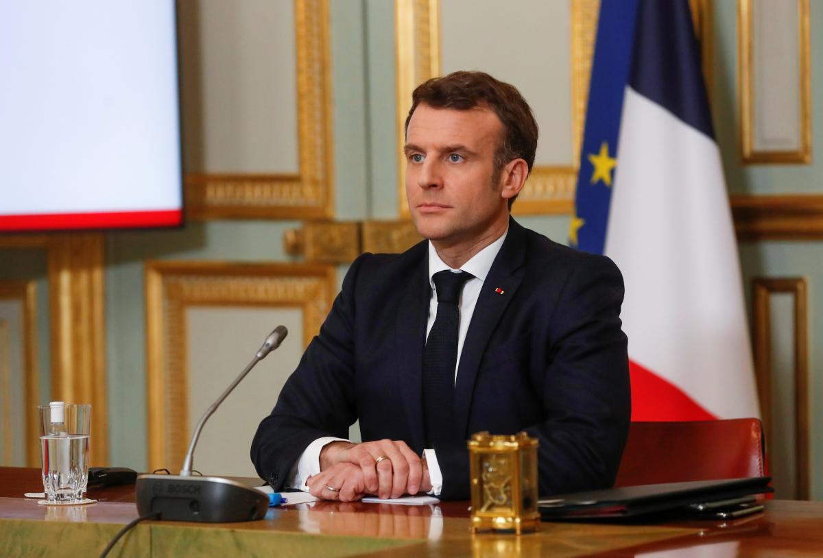 Макрон вважає, що дипломатичний діалог потрібно прискорити / фото REUTERS