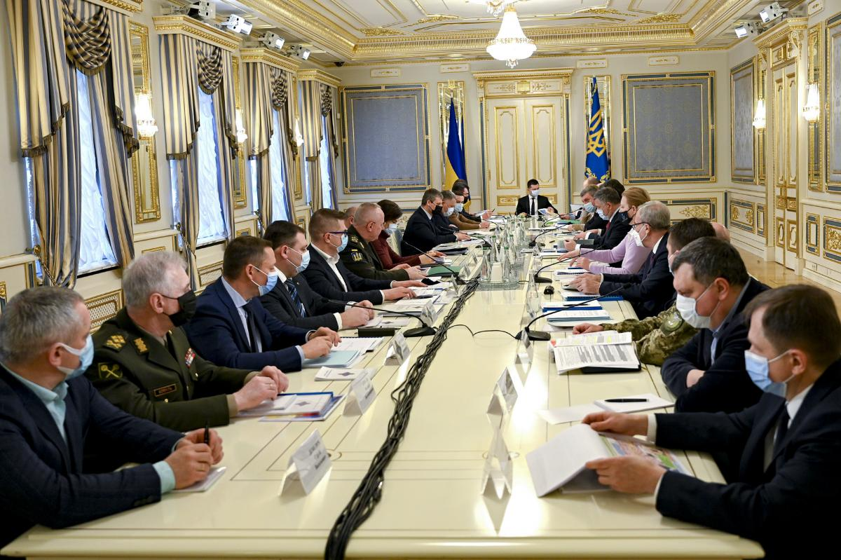 The NSDC decided to sanction ten ex-officers / Photo from president.gov.ua