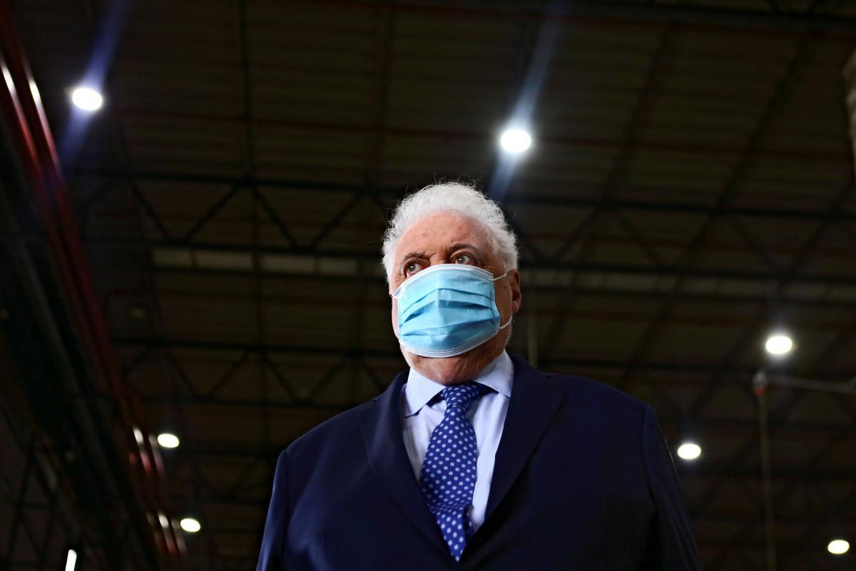 Гинес Гонсалес Гарсия объявил, что освобождается от должности / фото REUTERS