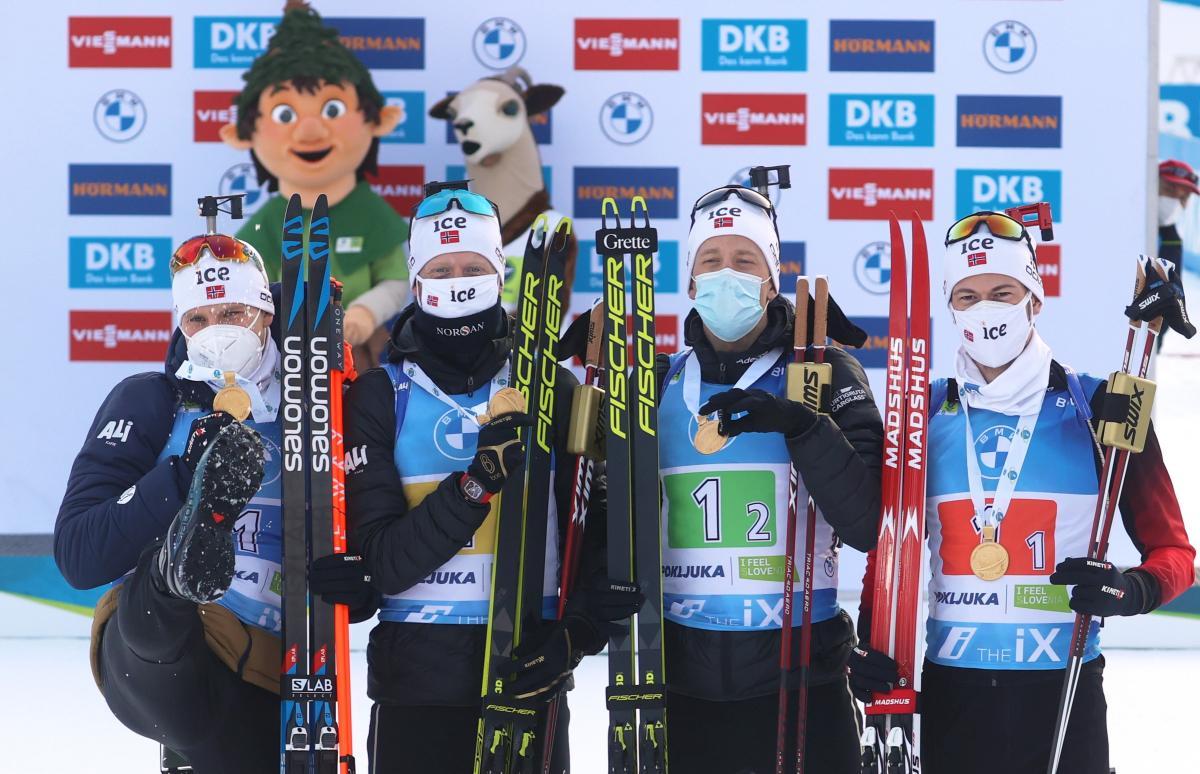 Норвегия-триумфатор гонки / фото REUTERS