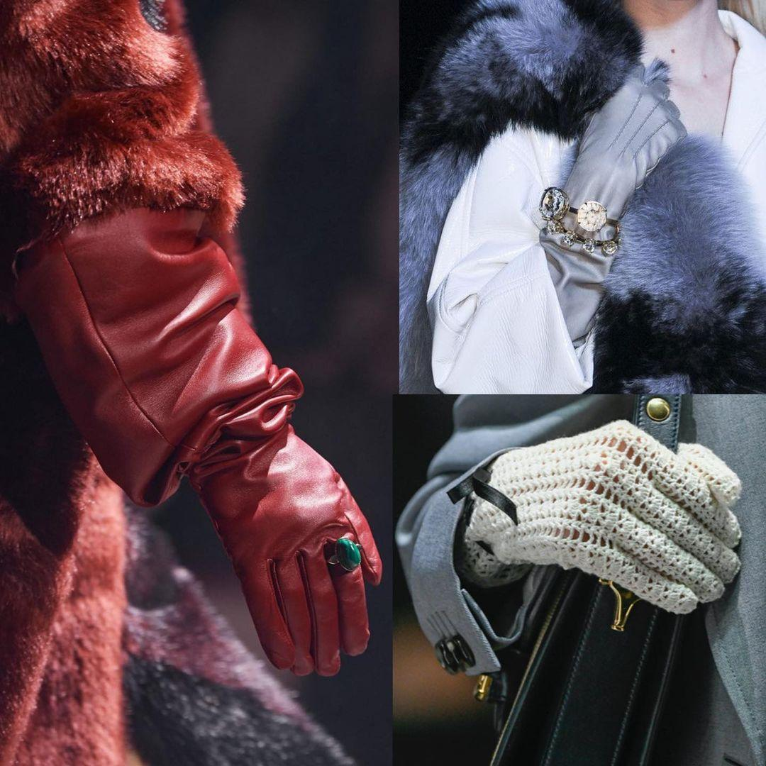 Украшения поверх перчаток также смотрятся стильно / instagram.com/andre_tan_official