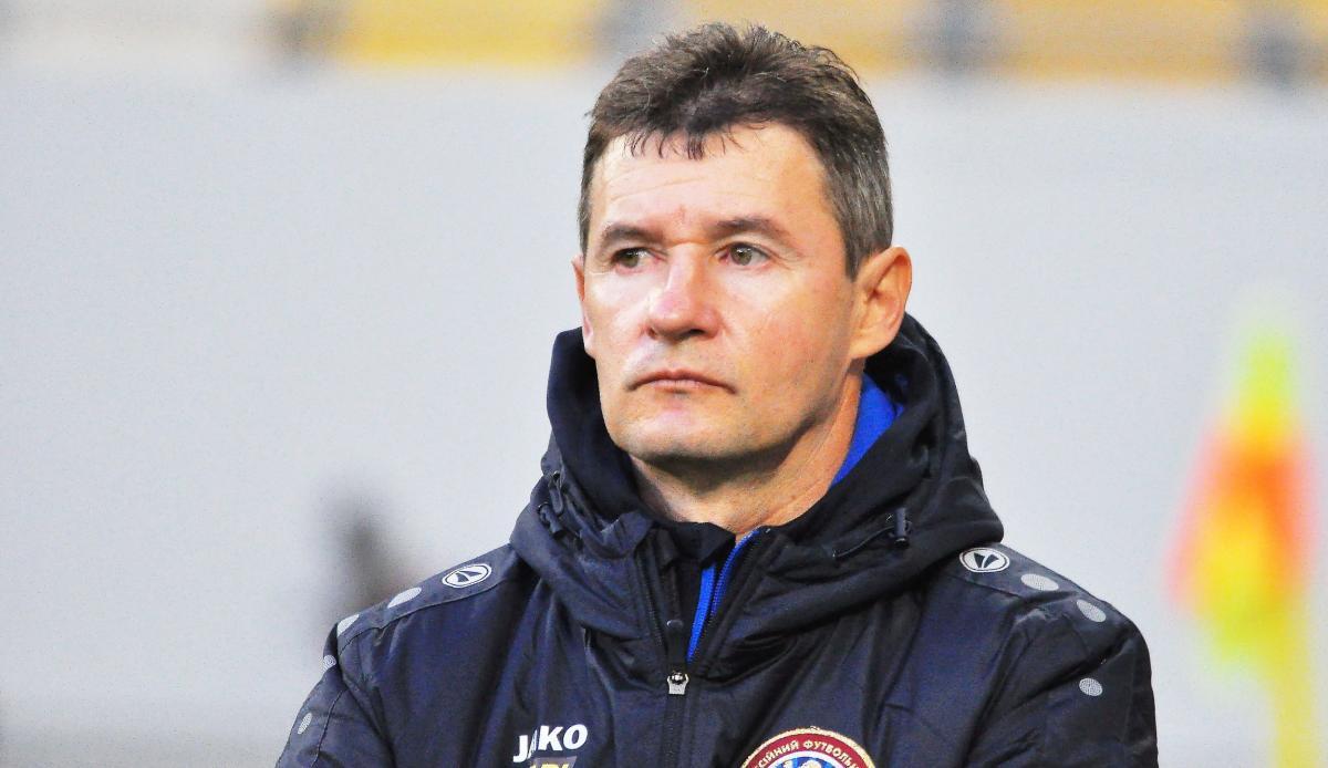 Виталий Шумский - главный тренер ПФК Львов / фото ПФК Львов