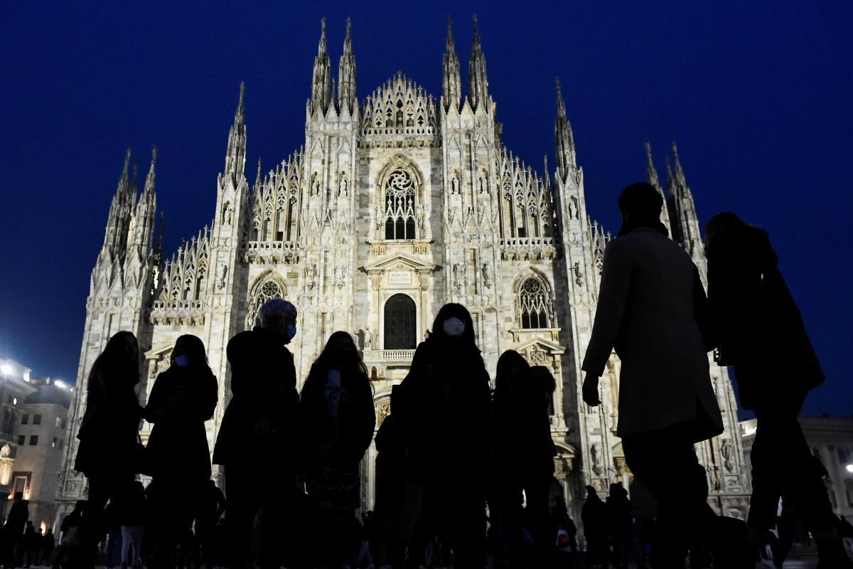 В Италии отметили годовщину первой известной смерти от коронавируса / REUTERS