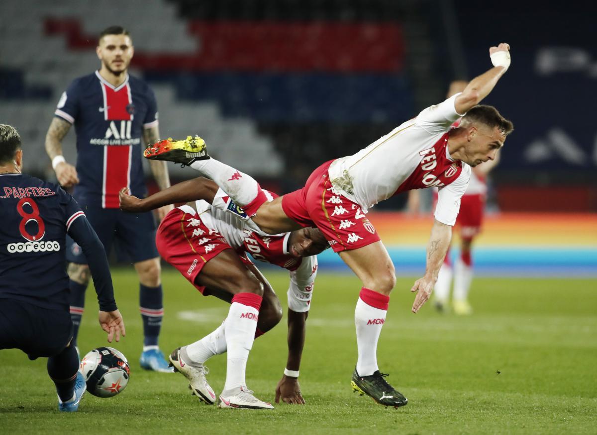 ПСЖ - Монако / фото REUTERS