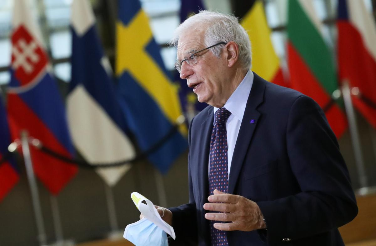 Жозеп Боррель очікує, що в ЄС відреагують на конфронтацію Росії / фото REUTERS