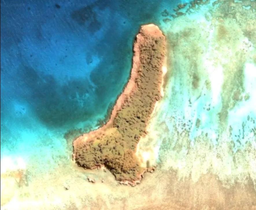Острів розташований в Тихому океані / скріншот Джолін Вултаджо