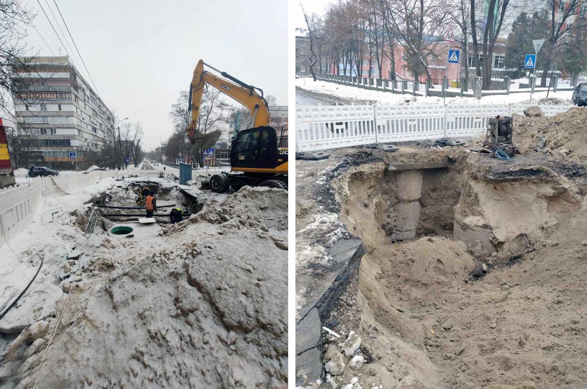 В Киеве произошла масштабная авария на водопроводе / Киевводоканал
