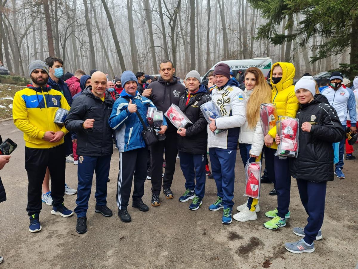 Открытая тренировка / facebook.UkrainianBoxingFederation
