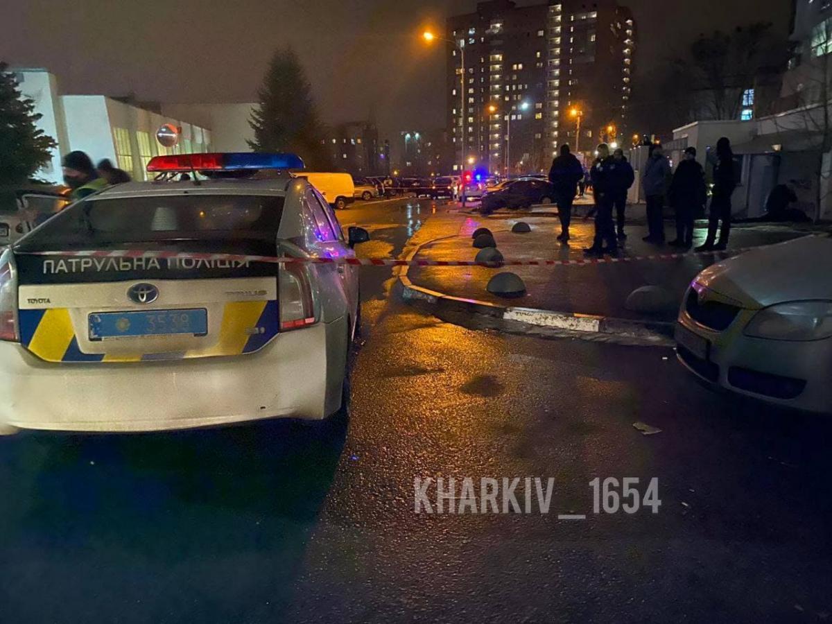 У Харкові застрелили чоловіка / фото: Харків 1654