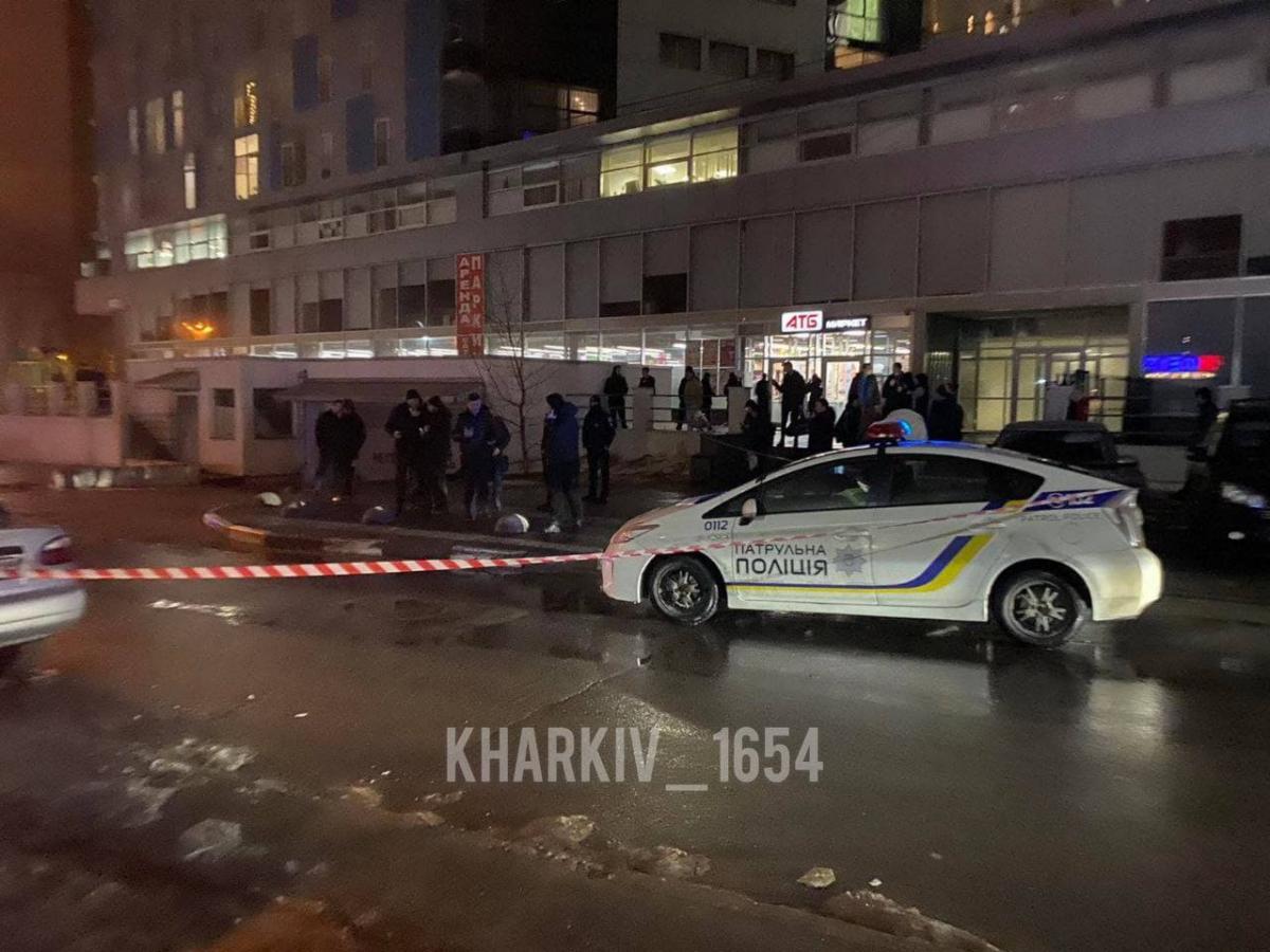 На місці працюють правоохоронці / фото: Харків 1654