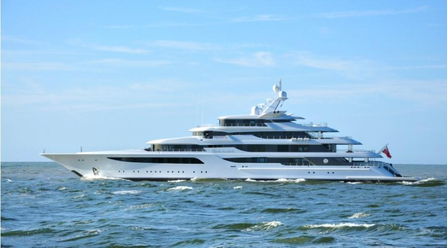 Длина яхтысоставляет 92,5 метра/ фотоfeadship.nl