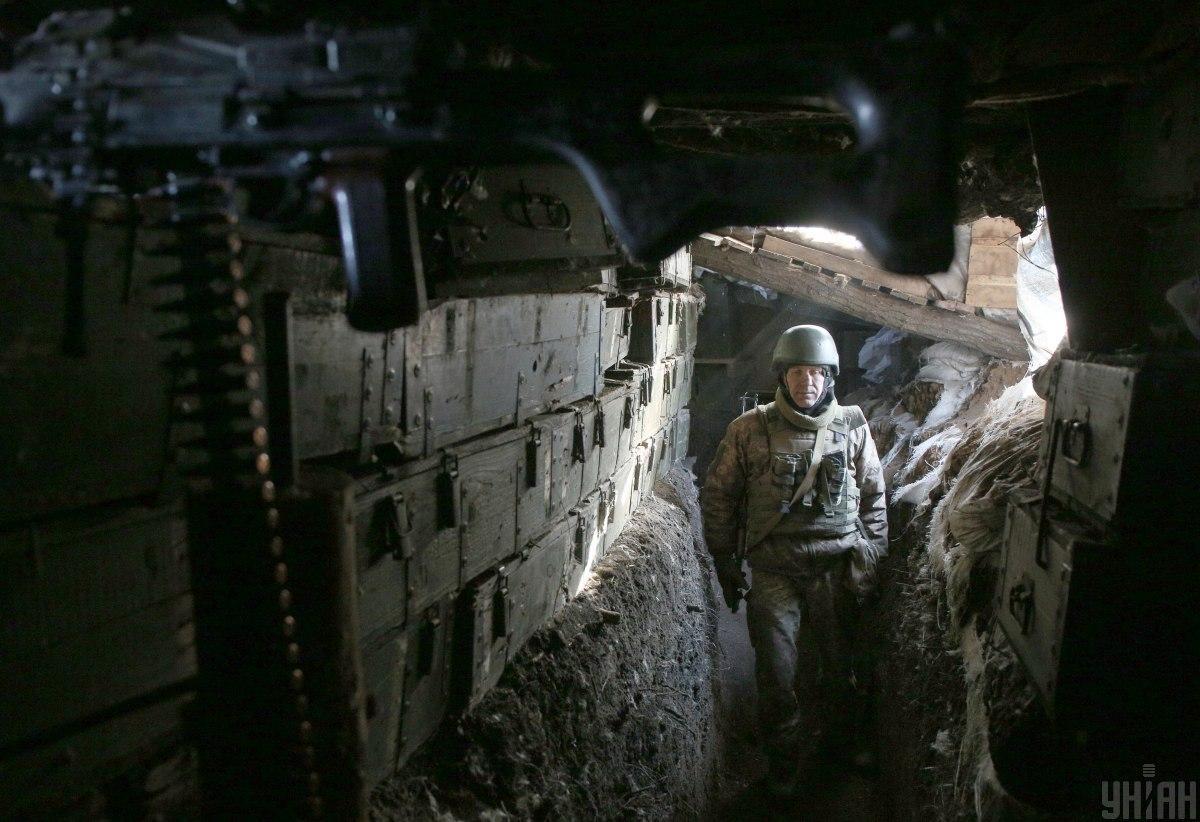 Окупанти гатили з гранатометів та стрілецької зброї / фото УНІАН,Анатолій Степанов