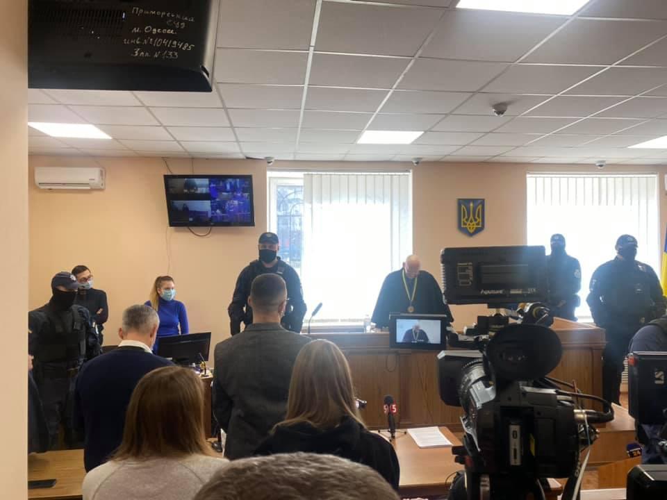 В Одессе оглашают приговор Стерненко / Facebook, Masi Nayyem