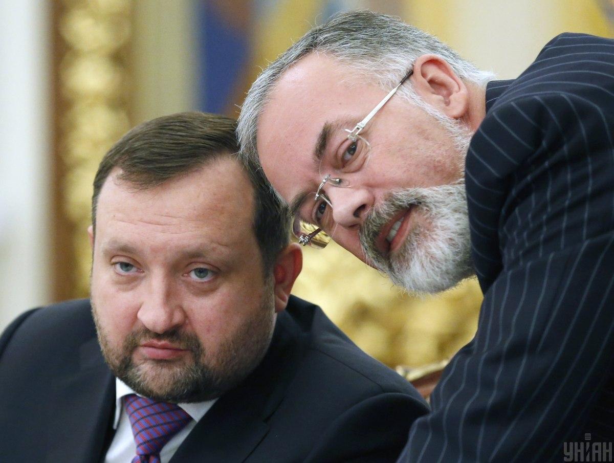 Санкції з Арбузова і Табачника знято \ фото УНІАН
