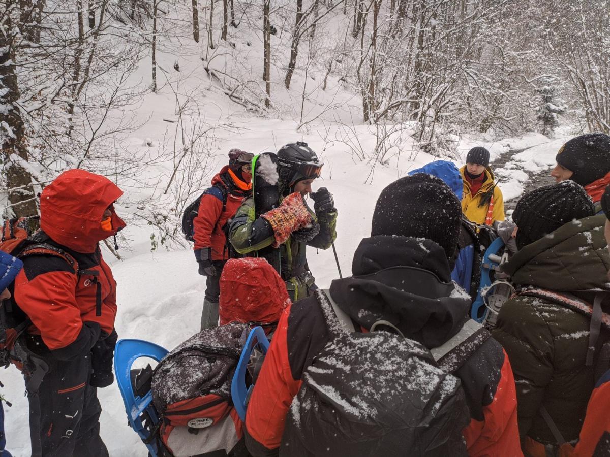 Рятувальники перед виходом на пошуки / фото УДСНС