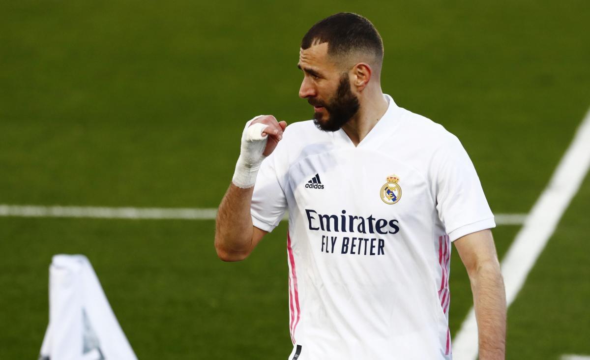 Карім Бензема-лідер атак Реала / фото REUTERS