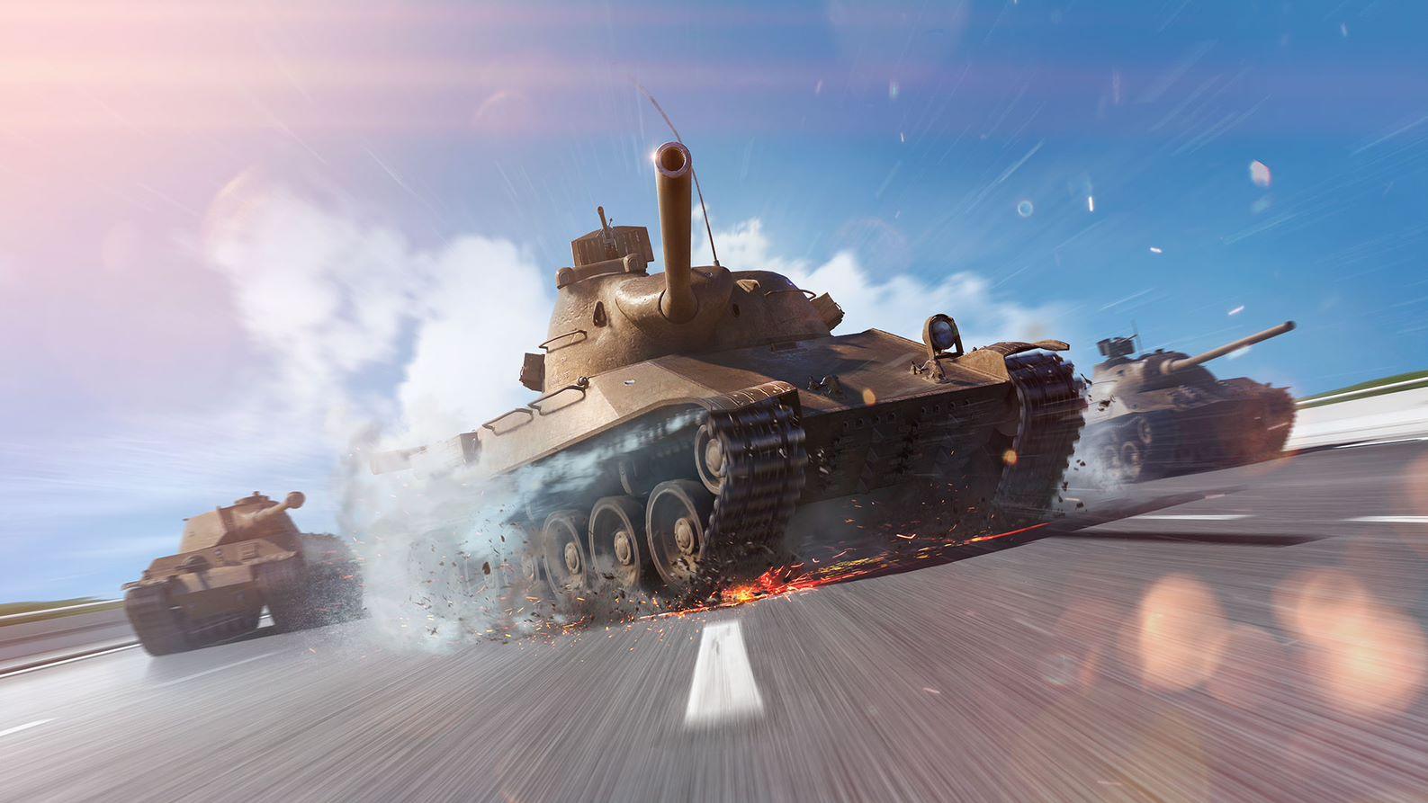 Чеські танки в Blitz / фото wargaming.net